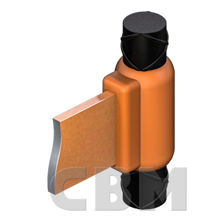 Połączenia CBM BZ/DZ: uziom-pręt zbrojeniowy